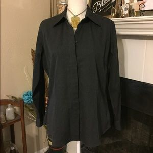 L.L. Bean Button Down Wool Shirt